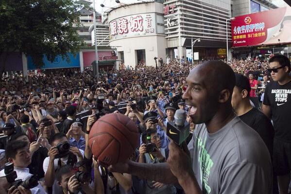 Kobe Bryant Can Draw Massive Crowd in China Like No Other