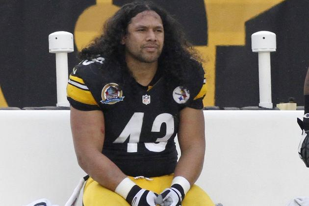 Troy Polamalu Has 'contusion of the Birth Certificate'