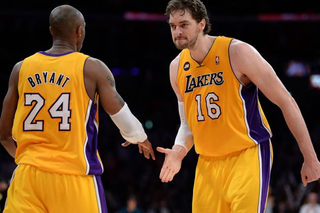 LA Lakers Keeping Pau Gasol Is Key to Extending Kobe Bryant's Title Window