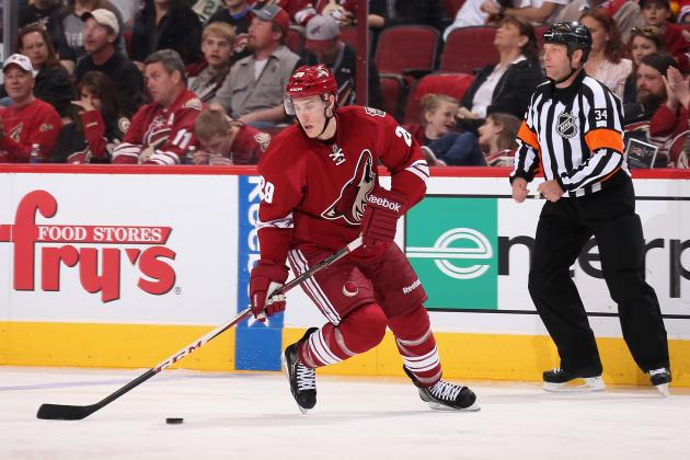 30 in 30: Michael Stone Could Emerge as Phoenix Coyotes' X-Factor