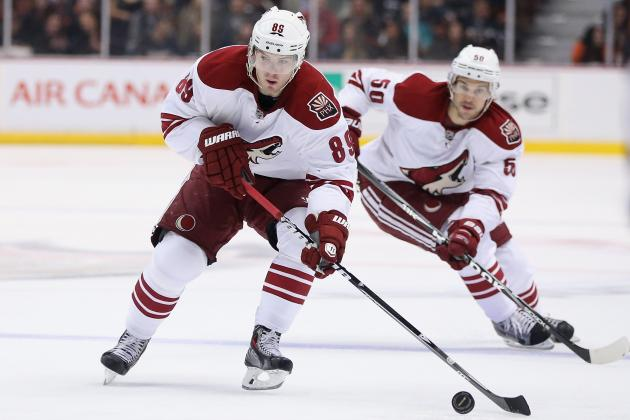 Phoenix Coyotes looking for more goals from lineup