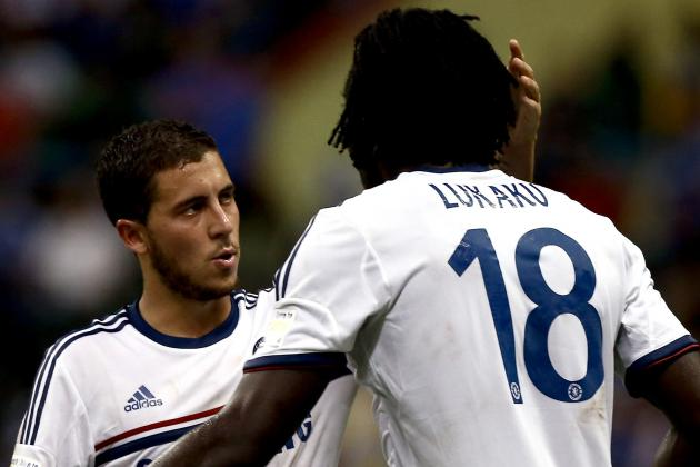 Hazard and Lukaku Leading Chelsea's Belgian Revolution