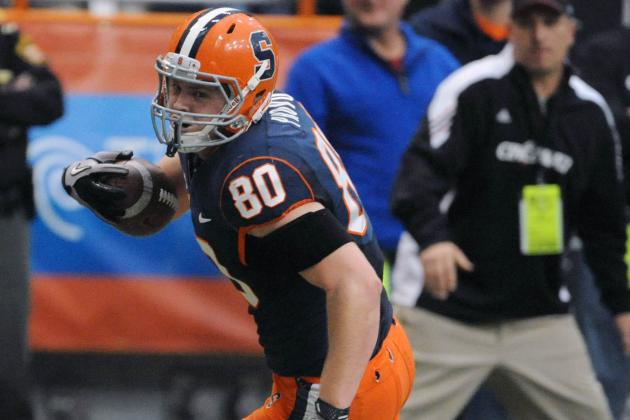 Bills Add Another Syracuse Product in Tight End Nick Provo