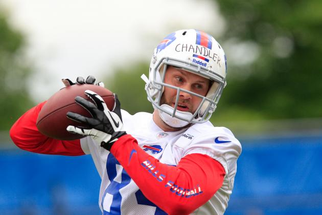 Scott Chandler Recovering Quickly for Buffalo Bills