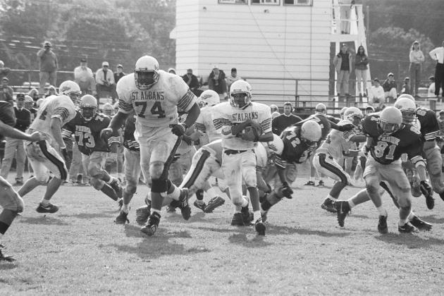 Hall of Famer Jonathan Ogden Was Absolutely Gigantic in High School