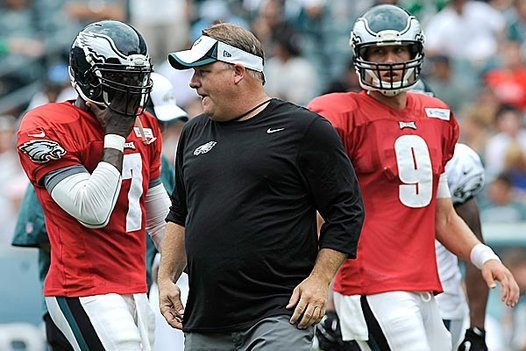 Vick, Foles, Cooper All Listed as Starters on Eagles' Depth Chart