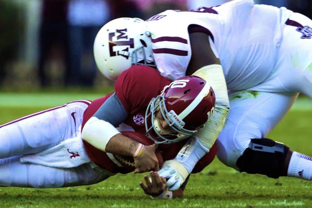 Texas A&M DL Kirby Ennis Suspended for Aggies' 2013 Season Opener