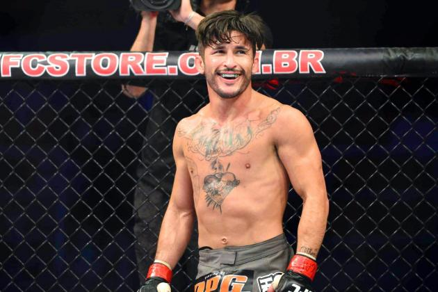 Ian McCall Posts Photo of Broken Hand from UFC 163