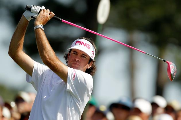 Bubba Watson Practices for the PGA Championship by Having Friend Catch His Drive