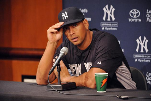 Alex Rodriguez Right to Appeal Ridiculous Suspension Handed Down by MLB