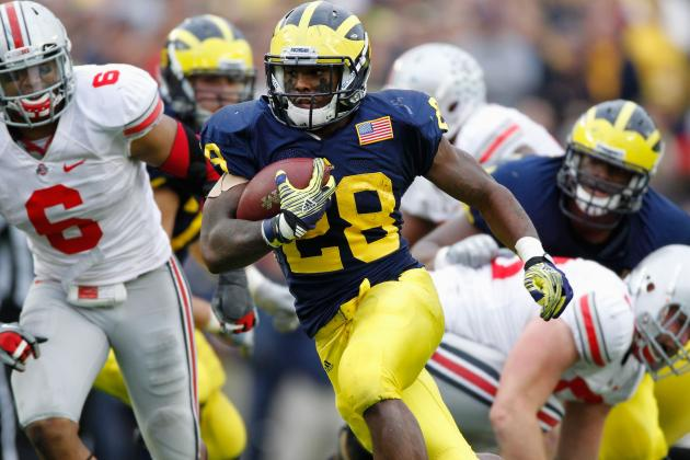 Michigan Football: RB Fitz Toussaint Claims No. 1 Job, but Will He Deliver?