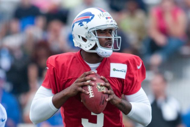 EJ Manuel Starts Shakily, but Finds Traction in Bills Scrimmage