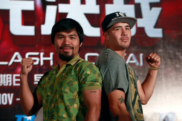 Manny Pacquiao's Bout with Brandon Rios Will Determine How Much Pac-Man Has Left