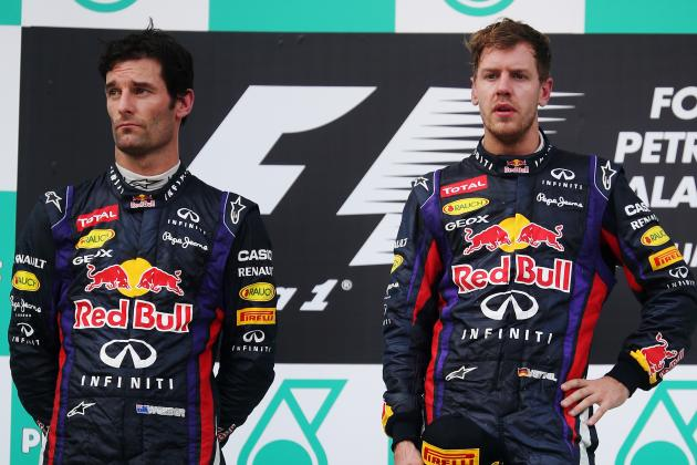 Midseason Report: Grading the Performance of Red Bull's Mark Webber