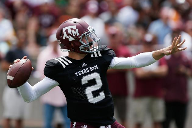 Johnny Manziel Injury: Updates on Texas A&M Star's Knee, Likely Return Date