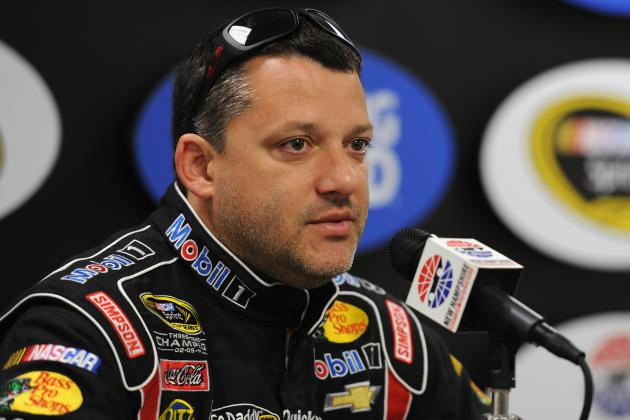 Tony Stewart Breaks Leg in Crash, Replacement Driver Yet to Be Named
