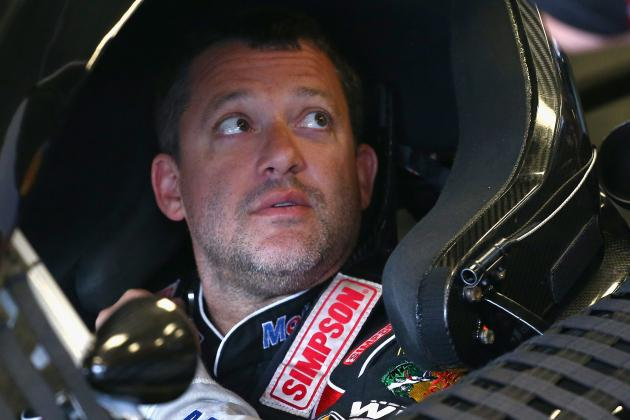 What Tony Stewart's Crash and Surgery Means for Remainder of NASCAR Season
