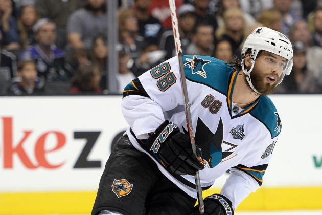 San Jose Sharks X-Factor Brent Burns Making Impact at Forward