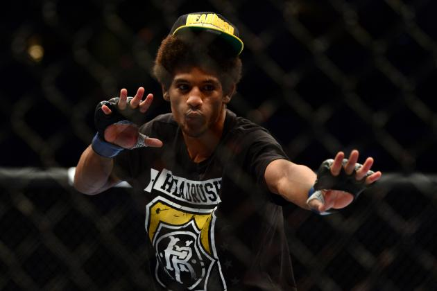 Roland Delorme vs. Alex Caceres Added to UFC 165 in Toronto
