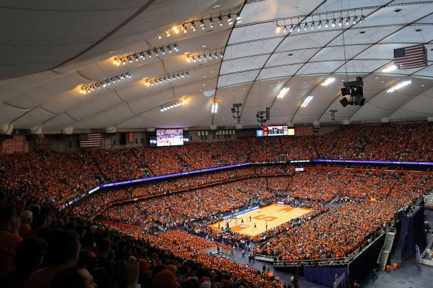 Weighing the Pros & Cons of a Carrier Dome Center Court Floor Shift