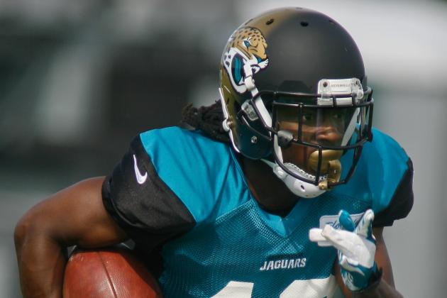 Jaguars' Rookie Ace Sanders Writing His Own Success Story at Camp