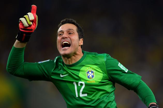 Julio Cesar Picks Fiorentina as Arsenal Come Up Empty Once Again