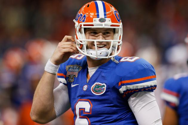 Florida QB Jeff Driskel's Appendectomy Has Trickle-Down Effect on WR Camp Battle