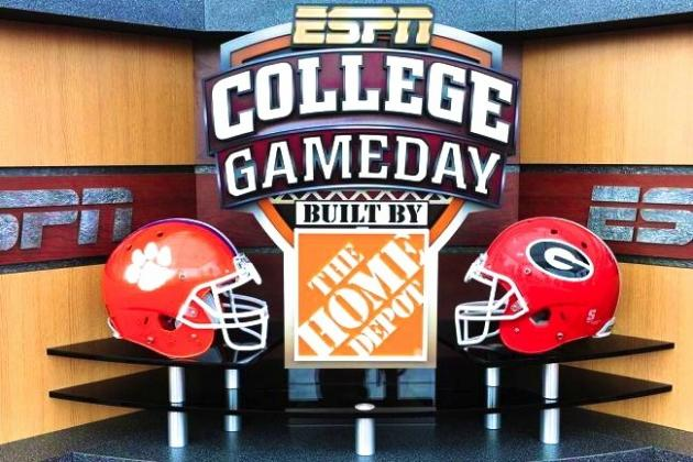 ESPN Announces College GameDay Will Be at Clemson vs. Georgia in Week 1