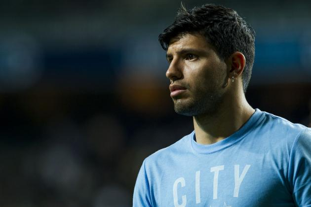 Sergio Aguero's Return from Injury a Relief for Pellegrini