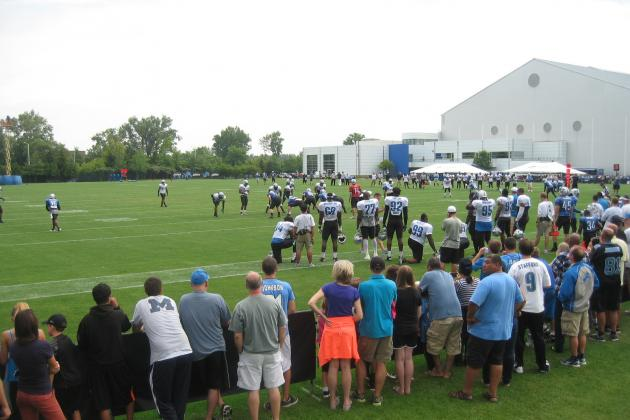 Detroit Lions 2013 Training Camp: Tuesday, August 6