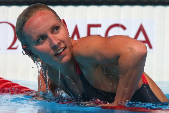 Olympic Gold Medalist Lost Engagement Ring at Swim Meet, Got It Back