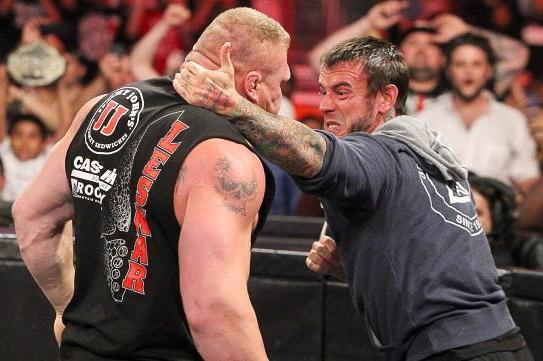 'Paul, Say Something Stupid': How Punk/Lesnar Is Shaping Up