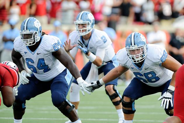 UNC Tar Heels Offensive Line Needs to Come Together Fast