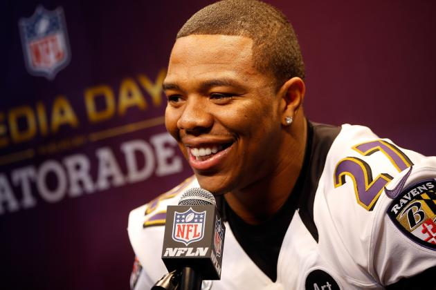 Ravens Participation Report: Ray Rice Returns to Practice