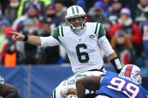Jets Name Sanchez Starter for Friday Night; Smith Could See First-Team Reps