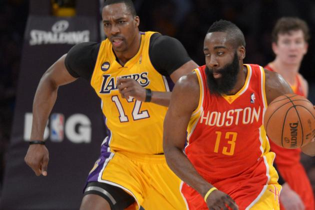 Debate: Who Has More Pressure on Them -- James Harden or Dwight Howard?