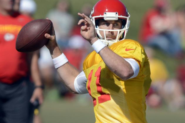 Debate: Predict the Stats for Alex Smith in 2013