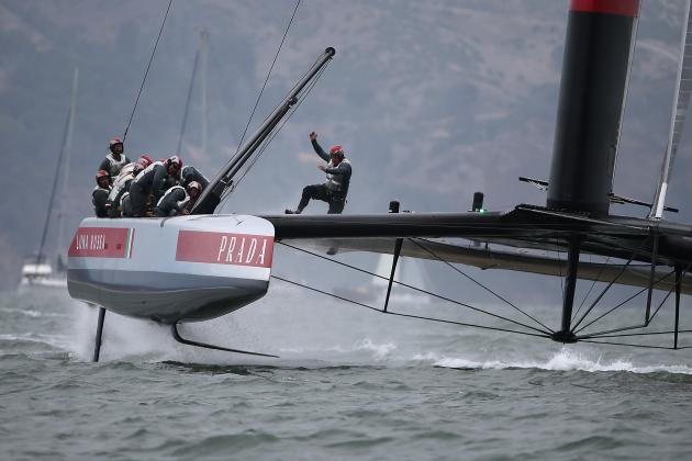 Luna Rossa Beats Artemis in 1st Race of Semis