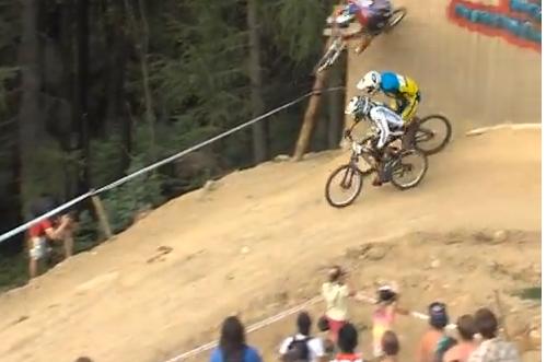 Cyclist Michal Marosi Pulls Off Stunning Wall Ride to Win Race