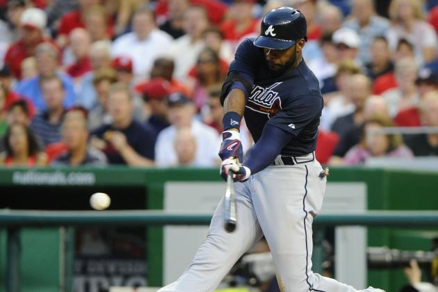 Heyward Strains Neck Muscle in 1st Inning vs. WSH