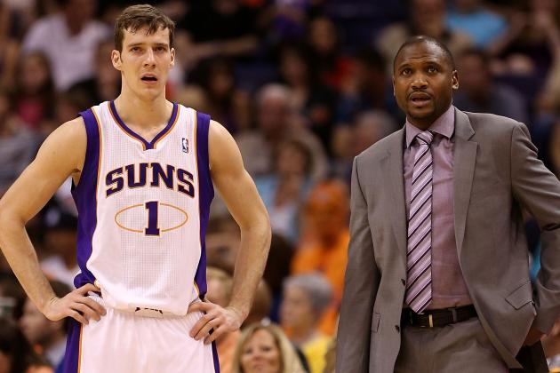Suns Open 2013-14 Season Against Blazers