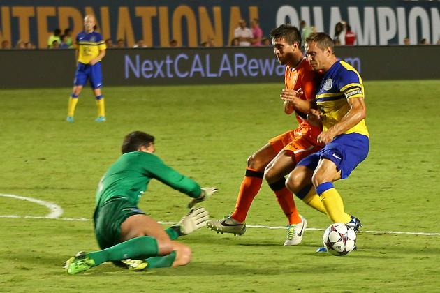 International Champions Cup 2013 Scores: Takeaways from Tuesday's Action
