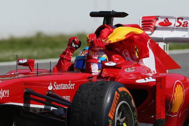 Midseason Report: Grading Ferrari's Fernando Alonso
