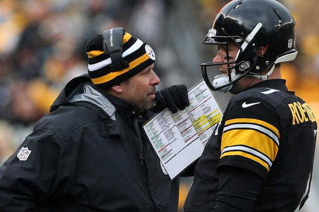 It's All Different Now for Steelers Offensive Coordinator Haley