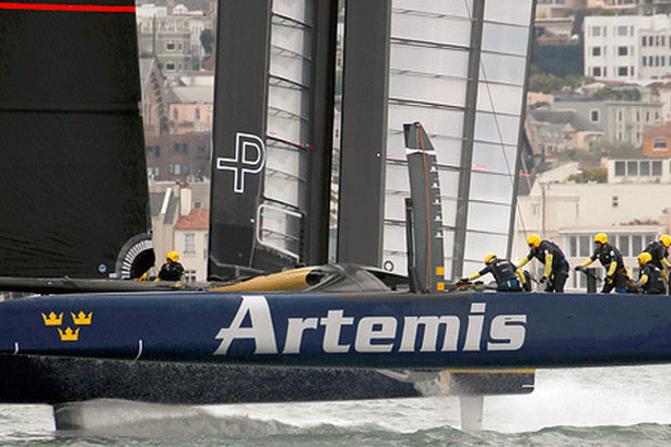 America's Cup: Artemis Monitoring Wind