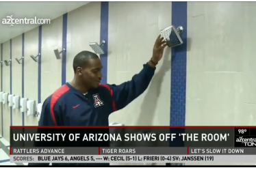 Terrence Miller Gives Tour of Slick New Arizona Wildcats Football Facilities
