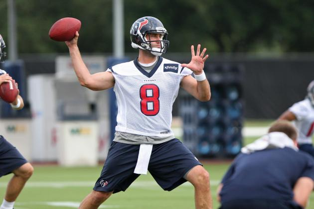 Matt Schaub Must Rise in All-or-Nothing Year for Houston Texans