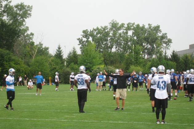 Detroit Lions 2013 Training Camp Report: Wednesday, August 7