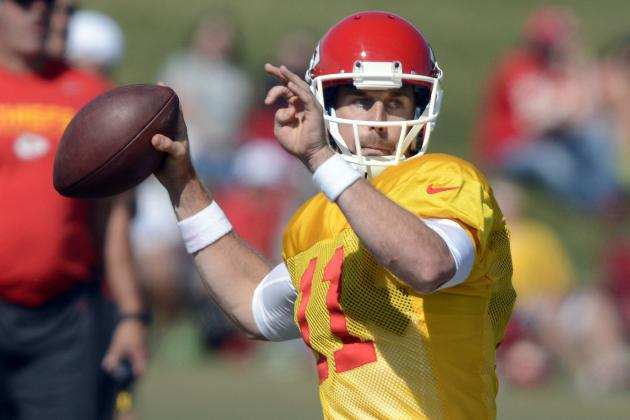 Alex Smith's Accuracy Sparks Chiefs Practice