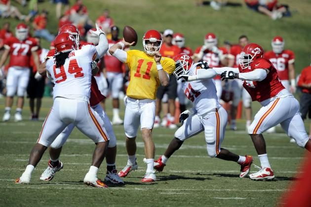 Alex Smith, Chiefs Want to Create Momentum in Preseason Opener